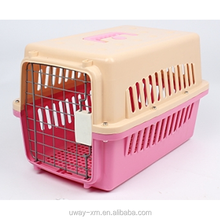 Large size plastic pet carrier