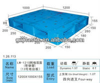 GOOD Plastic Pallet Double-sided :LM-1210(13#) Double-sided Mesh