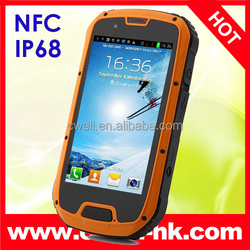 ALPS S09 NFC IP68 Waterpoof Rugged Smartphone Android 4.2 MTK6589 Quad Core 1GB RAM 4GB ROM Dual SIM Card 8.0MP 4.3 INCH