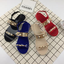 Woman PVC Shoes Jelly Sandal Made in China