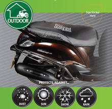 universal scooter /motorcycle seat cover for motorcycle