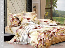 Ever In Bloom Dawn Flowery Floral Printing 3D Quilt Cover Sets