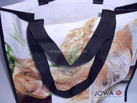 Low price hot selling pp woven eco friendly shopping bag
