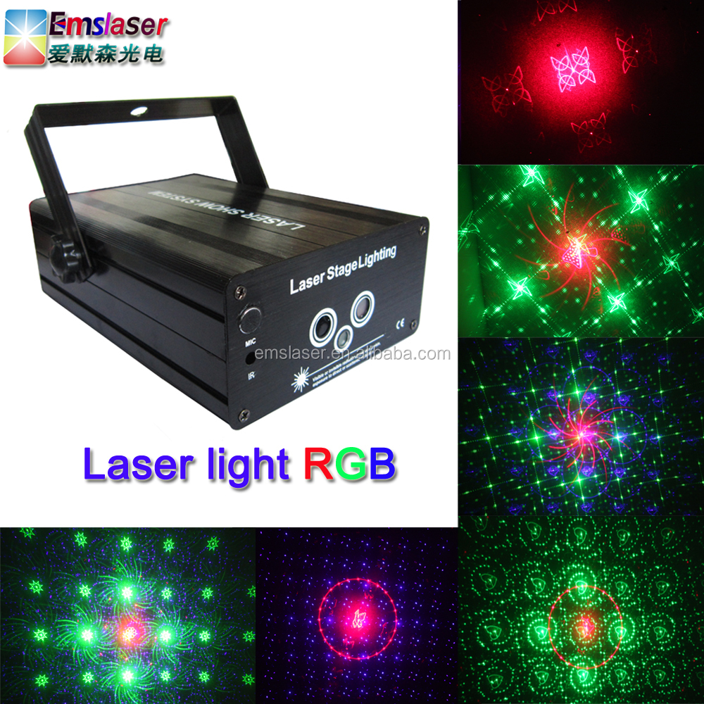 2016 new products laser light full color 48 patterns disco laser light large angle stage light
