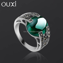 OUXI Latest Jewelry lots sterling silver rings G70008-2