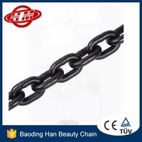 DIN5685 black iron lifting chain