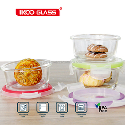 Eco friendly multi dimension hot selling glass food preservation box Storage container