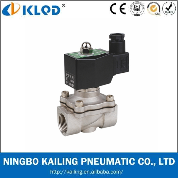 2WB-25 Normally Closed Stainless Steel 1.6Mpa solenoid valve