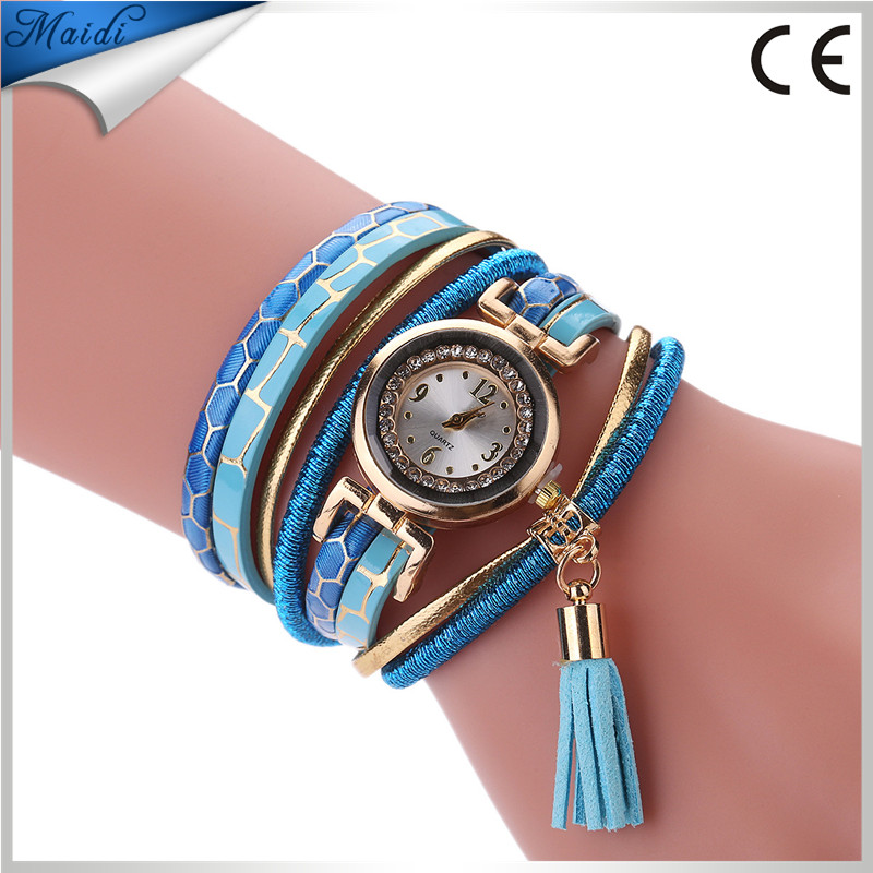 Wholesale Fashion Quartz Watches Women Bracelet Watch Leather Casual Dress Wristwatches For Ladies Quartz Tassels WW110