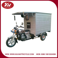 India fashion high quality tricycle for adults with 150cc air-cooled engine