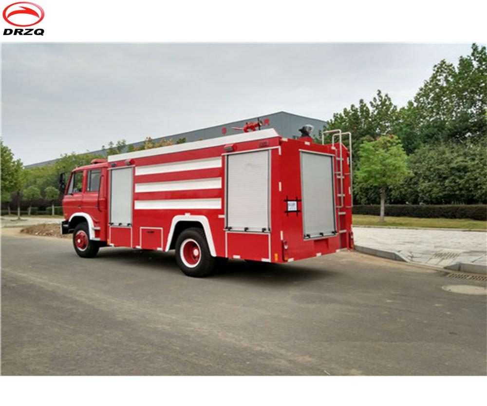 Famous brand foam and water fire fighting truck