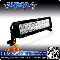 High optical efficiency AURORA 10inch led bar light for atv parts