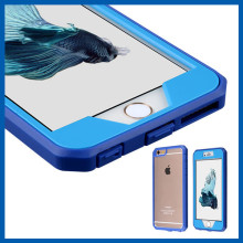 C&T Hybrid Clear PC / TPU Armor Full Body Protective Case Cover with Built-in Screen Protector for Apple iPhone 6 / 6s