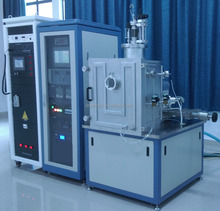 Economic lab small high vacuum electron beam compounded thermal evaporation coating cvd machine