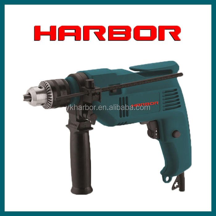 HB-ID006 2015 sales well wood wall concrete 500W high speed electric drill price, universal drilling machine