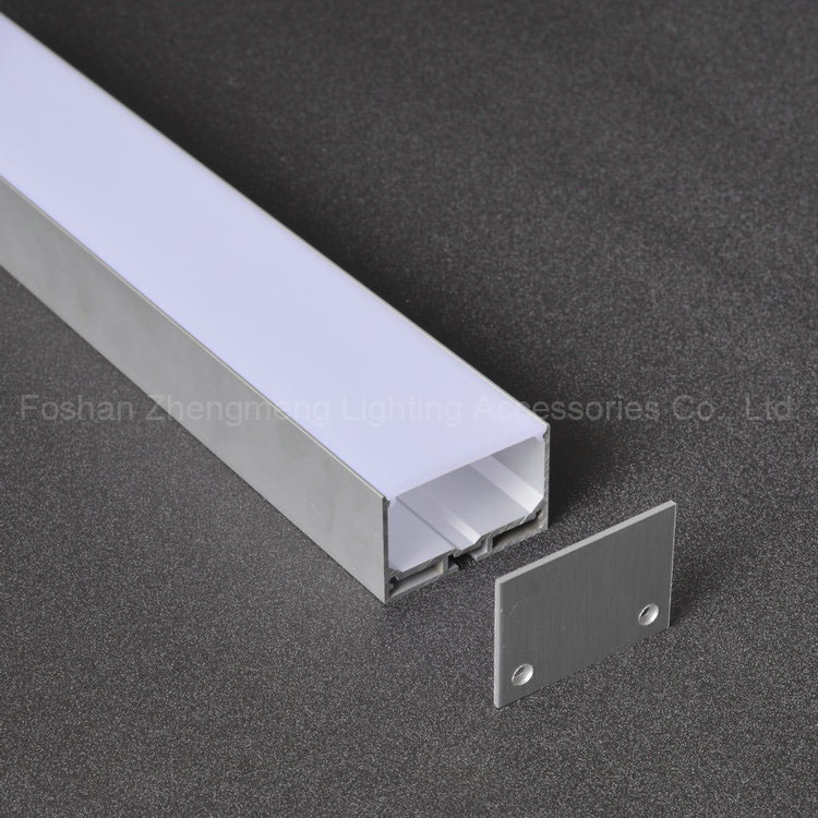 Foshan ZM led linear lighting accessories aluminum led lighting profile