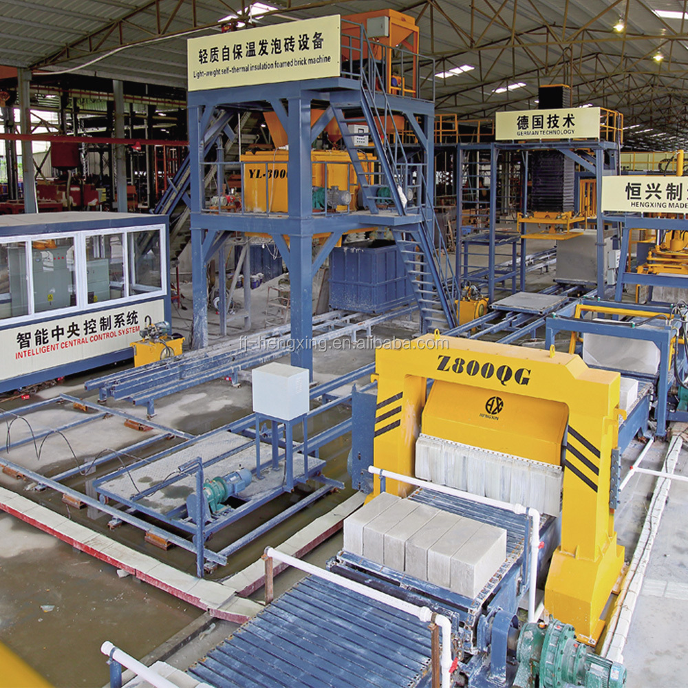 High Strength Insulation CLC Brick Machine CLC Concrete Brick Making Machine