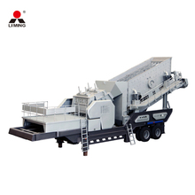 Construction waste crushing equipment mobile stone crushing plant for sale
