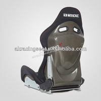 Factory price FIA BRIDE lowmax adjustable carbon fiber racing seat