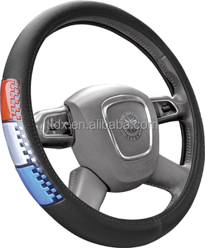 2017 China Car accessory reflective PVC truck steering wheel cover