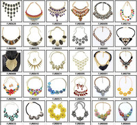 High End Fashion Costume Jewelry Necklace By China Wholesaler