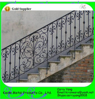 Chinese Factory Price Q235 Steel Material Outdoor Metal Stair Railing