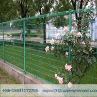 Double ring fence used for airports, ports and terminals security