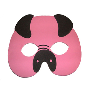 High Quality Scary Halloween Masquerade Foam Pig Party Mask