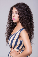 SedittyHair 100g Deep Wave Virgin Remy Brazilian Hair with Natural Black
