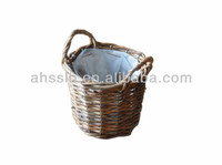 Natural Wicker Pot Plant