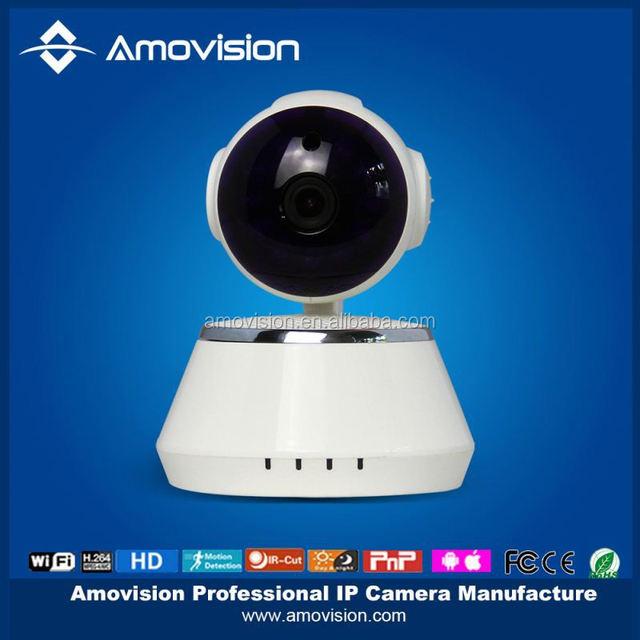QF510 Cheap 1 Megapixel Wireless IP H.264 P2P Indoor Wifi IP Camera