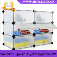 cheap YIWU DIY shoe cabinet rack shelf