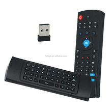 Mini Wireless Keyboard + 2.4G Gyro Fly Air Mouse Remote with Voice Search