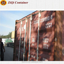 Dry Container Type and 20' Length (feet) shipping container 20 feet container size