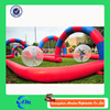 Cheap inflatable track race /inflatable car track / inflatable sports game