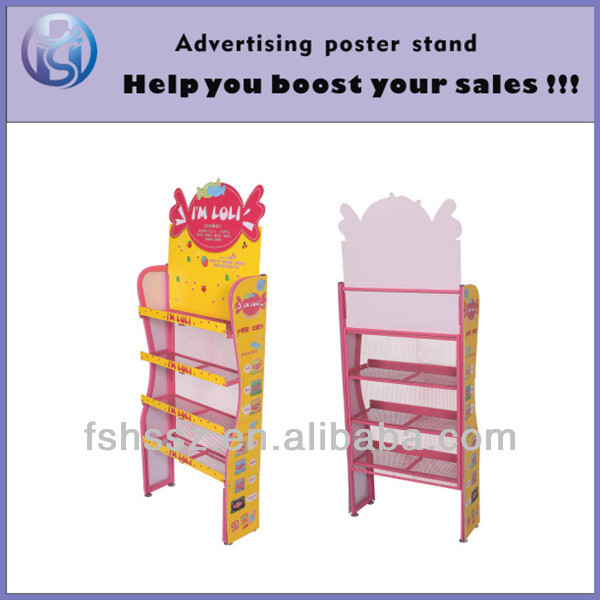 Super cute display racks for candy, toys HS-ZS10