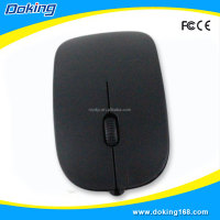 New stylish optical USB mouse wired