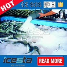 fast freezing seawater industrial slurry ice factory