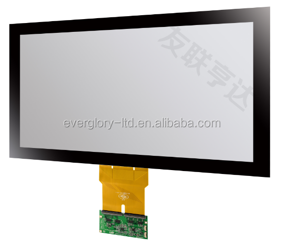 32'' Projected capacitive touch screen panel (G+G Structure) for touch monitor/ touch display