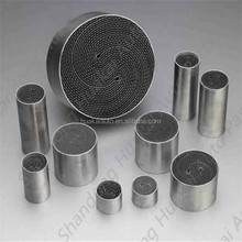 Metallic Honeycomb Substrate Metal Catalyst Carrier Catalytic Converter Motorcycle