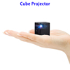 Newest Model Multimedia Video Portable Mini LED Cube Projector Mobile Phone