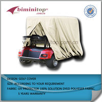 golf cart beige storage cover fits most 4 seater ez go club cart yamaha cart