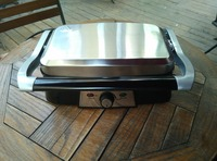 Electric of Portable Tabletop Sandwich Maker BBQ Grill for Breakfast