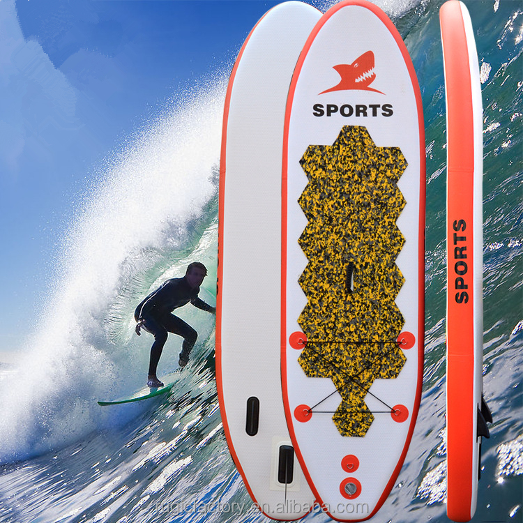 OEM Customize logo Inflatable Surf Air Novelty PVC Surfboard