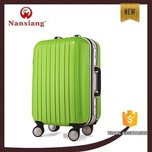 eight wheels cheap ABS+PC trolley luggage