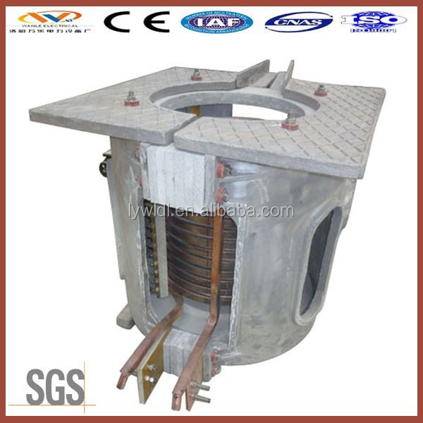 china supplier electric stoves induction furnace for metal manufactory and melting copper scrap