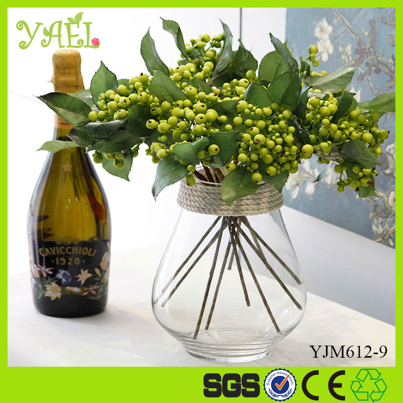 Factory Stock Supplies Type and Christmas Decoration H30CM Artificial Christmas Berries