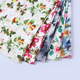 inexpensive peach design woven digital printing fabric for women cloth
