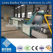 Plastic filament extruder monofilament rope extrusion drawing machine