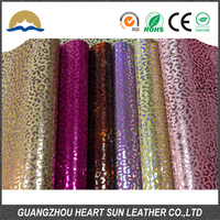 hot inquiry glitter leather fabric zarina for clothing